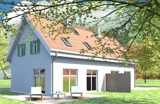 Wohnen 50 plus - Doppelhaus